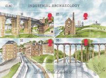 £1.13 Industrial Archaeology Min Sheet (20% off)